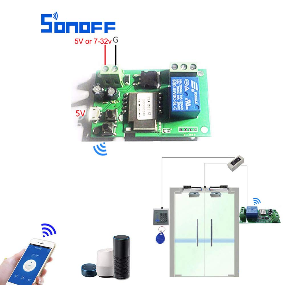 Relay Module,OWSOO eWeLink Smart Remote Control Wireless