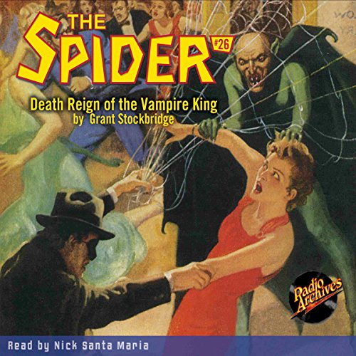 The Spider #26, November 1935 audiobook cover art