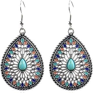 Women's Boho Ethnic Drop Dangle Vintage Earrings for Women Girl