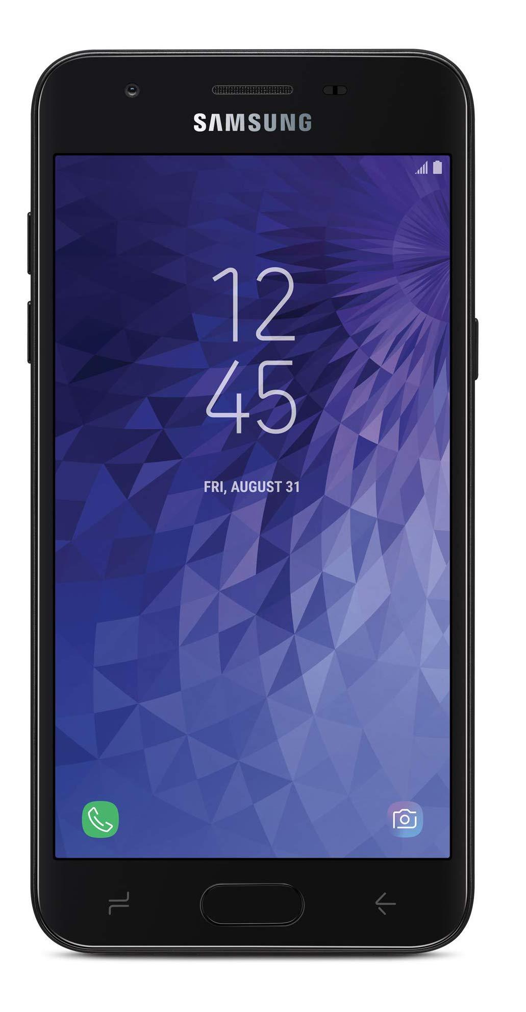 Total Wireless Carrier-Locked Samsung Galaxy J3 Orbit 4G LTE Prepaid Smartphone - Black - 16GB - Sim Card Included - CDMA