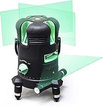 Inspiritech 3D Green Beam Self-Leveling Laser Level 360° Rotary Horizontal Vertical..