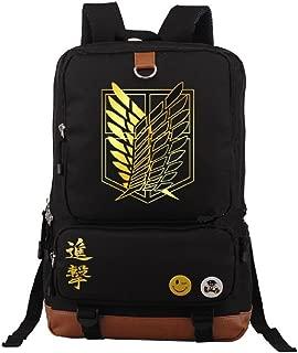 Anime Attack on Titan Cosplay Daypack Bookbag College Bag Backpack School Bag
