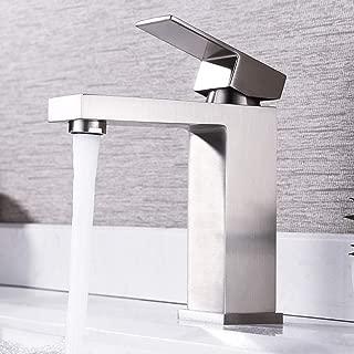 single lavatory faucet