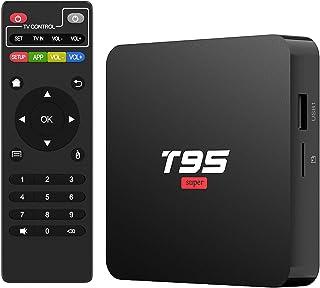 Android 10.0 TV Box, TUREWELL T95 Super TV Box Allwinner H3 Quad-Core 2GB RAM 16GB ROM Media Player Support 2.4GHz WiFi, 3...