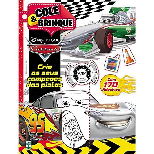 Disney Cole E Brinque - Carros Com Adesivos