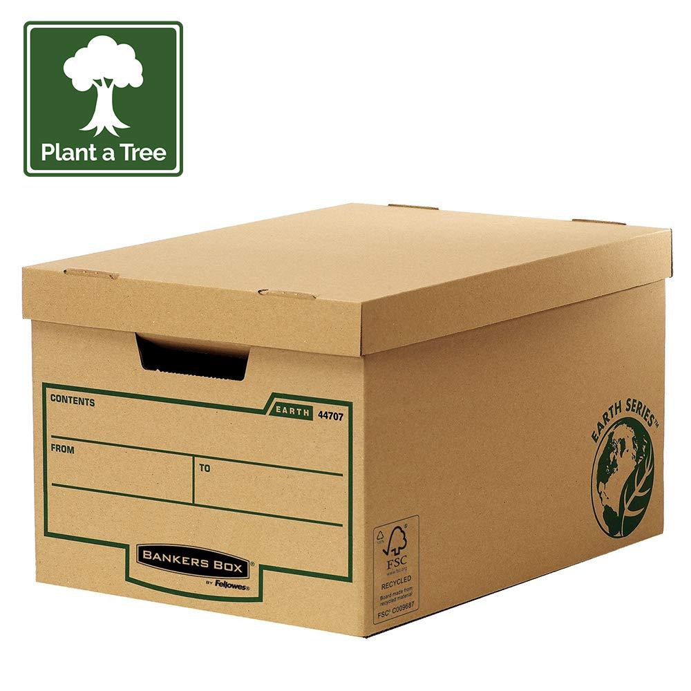 Bankers Box Earth Series - Maxi contenedor de archivos, marrón ...
