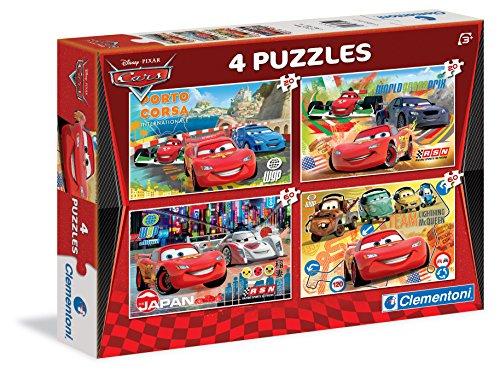 Clementoni 7602 Cars - Puzzle múltiple