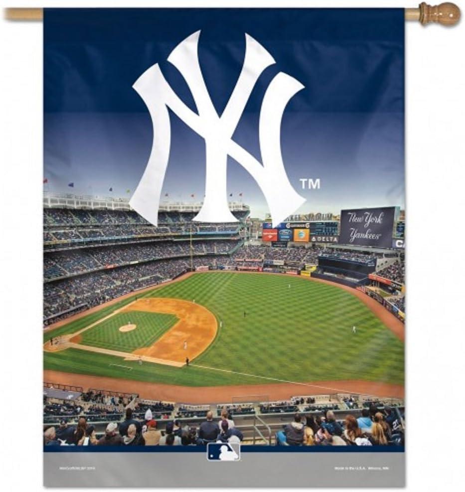 WinCraft Bargain sale New York Yankees Stadium X Vertical 27
