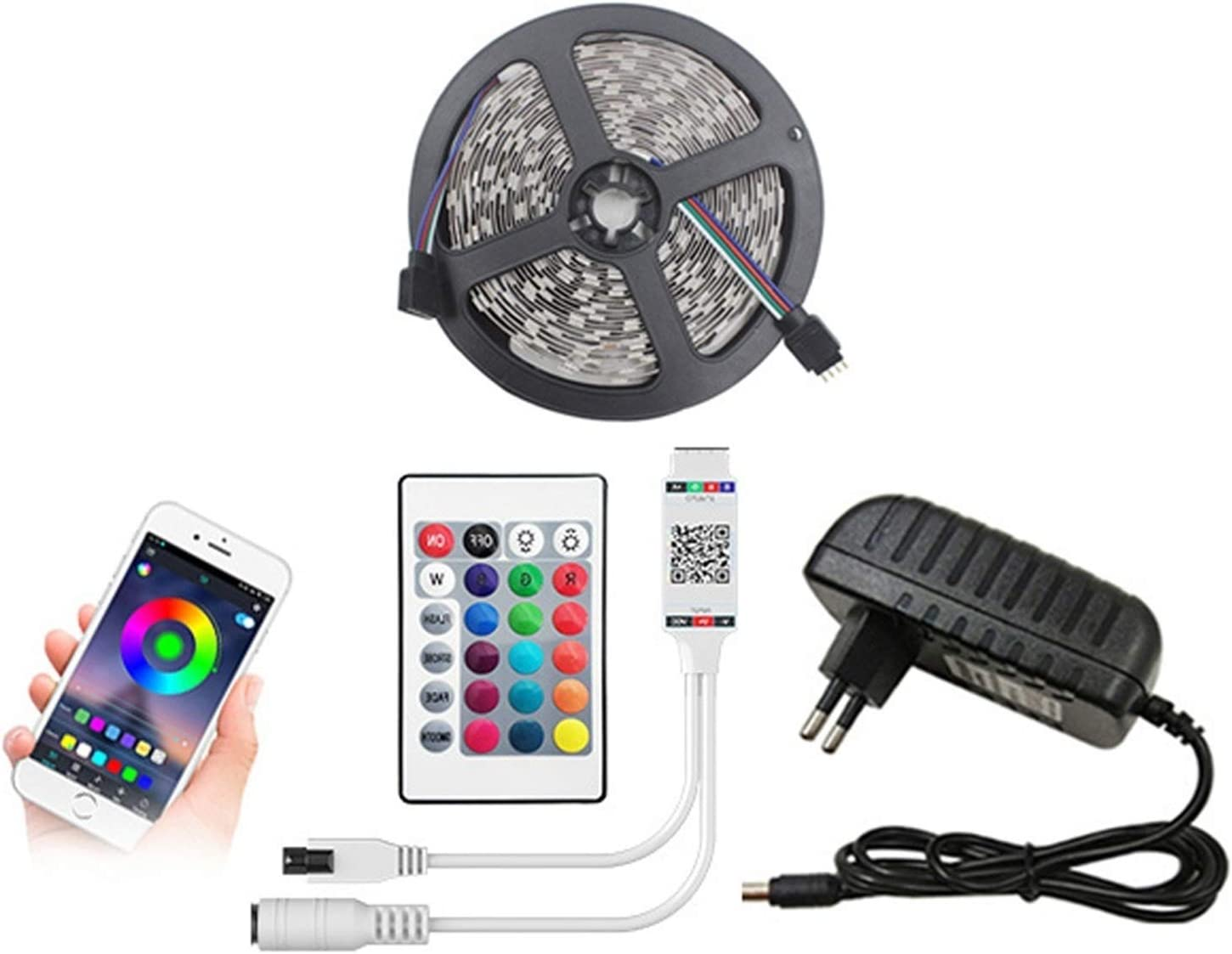 YYZWNC Bluetooth LED Lights Very popular! Rare with 2835 DC SMD RGB