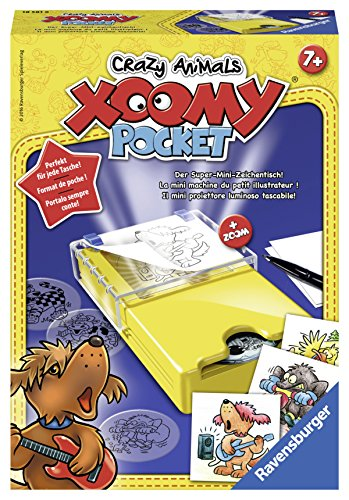 Ravensburger Xoomy 18581 - Pocket Crazy Animals