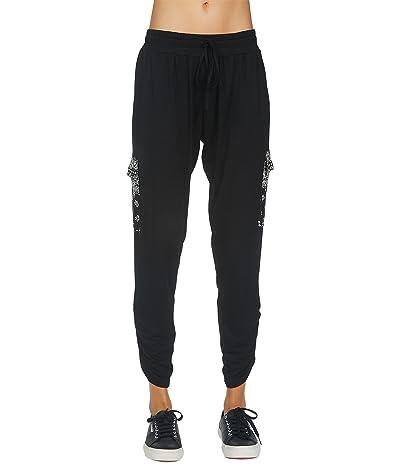 Michael Lauren Archibald Bandana Print Cargo Pants with Shirring