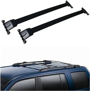 ANTS PART Roof Rack Side Rail Luggage Cross Bars for 2009-2015 Honda Pilot OE Style