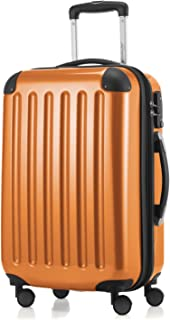 "Hauptstadtkoffer Alex Carry on Luggage Suitcase Hardside Spinner Trolley Expandable 20"" TSA, Orange, 55 Centimeters"