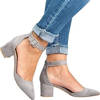 Best ankle strap grey heels Reviews