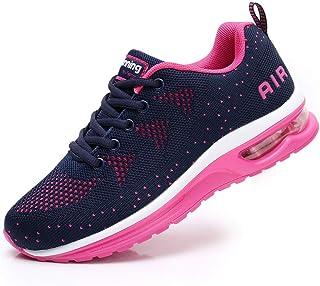 Flarut Mujer Zapatos para Correr en Asfalto Aire Libre y Deportes Zapatillas de Running Padel para Calzado Gimnasia