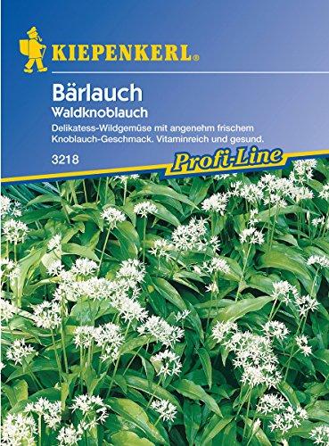 Sperli Gemüsesamen Waldknoblauch Bärlauch, grün