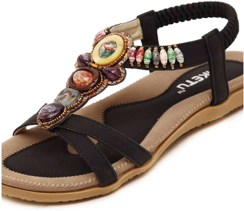 Woman Gladiator Sandals Women Summer Sandals Flat shoes Leisure Female Bohemian Ladies shoes