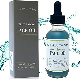 Balancing Blue Tansy Face Oil – Skin Glowing Serum. Anti Aging Collagen Support. Acne Fighting Dark Spot Corrector. Wrinkle & Pore Minimizer. Natural, Vegan Facial Moisturizer.
