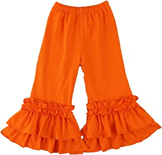 Wennikids Infant/Toddler Girls Stretchy Flare Pants w/Ruffles 1-6T