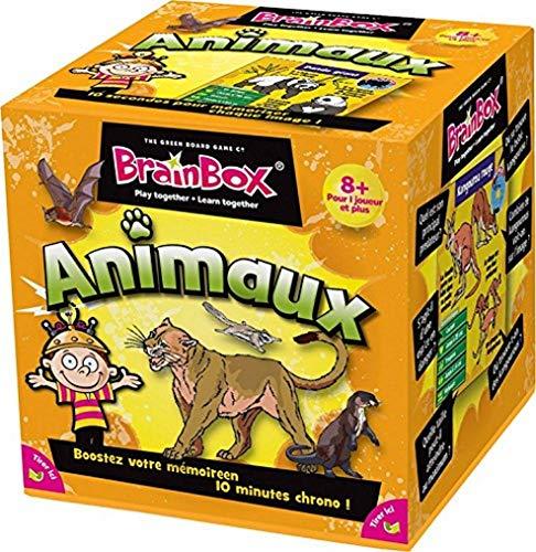 BrainBox : Animaux - Asmodee - Jeu de société - Jeu enfant - Jeu de mémoire - Jeu d'observation