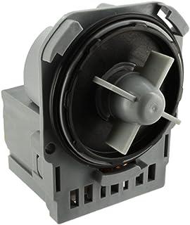 Spares2go 24/W unidad de bomba de drenaje PLASET tipo y filtro para Hotpoint Lavadora
