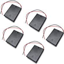 Yohii 8 x 1.5V AA Battery Holder Box Battery Case Holder with ON//Off Switch /& Cover Pack of 3