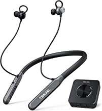 TOKSEL Wireless Headphones for TV Watching w/Bluetooth Transmitter, Support RCA, AUX 3.5mm Audio Out, High Volume Headset Ideal for Seniors & Hearing Impaired, Plug n Play, No Audio Delay