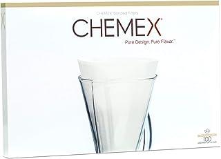 Chemex CHEMFCS-100 Set di filtri in carta per Chemex 3 Tazze, 100 pezzi