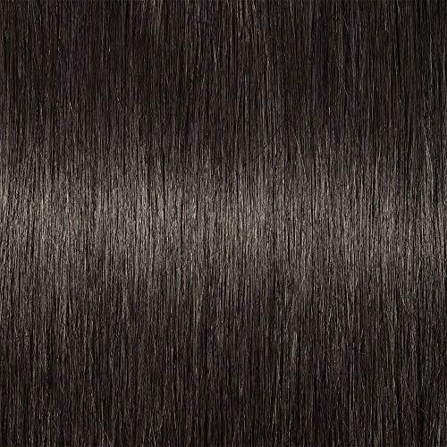 SEGO Clip in Pony Echthaar Bangs One Piece Haarteil In Front Hair Stirnfransen Extension Fringe natürliche 100% Remy Haar Dicker Pony ohne Tempel-23g Naturschwarz#1B