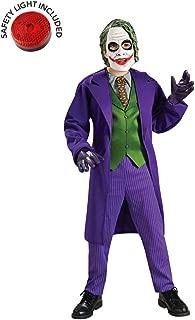 Joker Deluxe Costume Kit with Safety Light - Kids XL