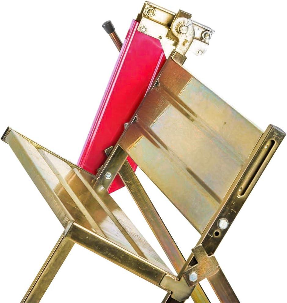 Caballete para motosierra 150 kg de perfiles de metal galvanizado Hengda dientes evitan torsi/ón de la madera 4 alturas de trabajo travesa/ños adicionales
