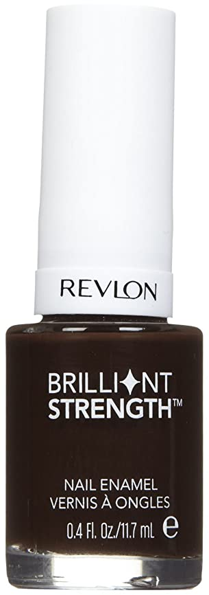 トライアスロン繰り返し拍手するREVLON BRILLIANT STRENGTH NAIL ENAMEL #160 DOMINATE