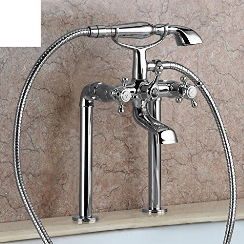 Badewanne Wasserhahn Tank Seite Dusche Mischer hei und kaltes Wasser streuen Satz-A