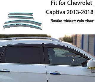frangivento set cromato Per Chevrolet Captiva 2007/ 4/pezzi
