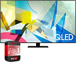 SAMSUNG QN49Q80TAFXZA 49-inch Class Q80T QLED 4K UHD HDR Smart TV (2020) Bundle with Support Extension