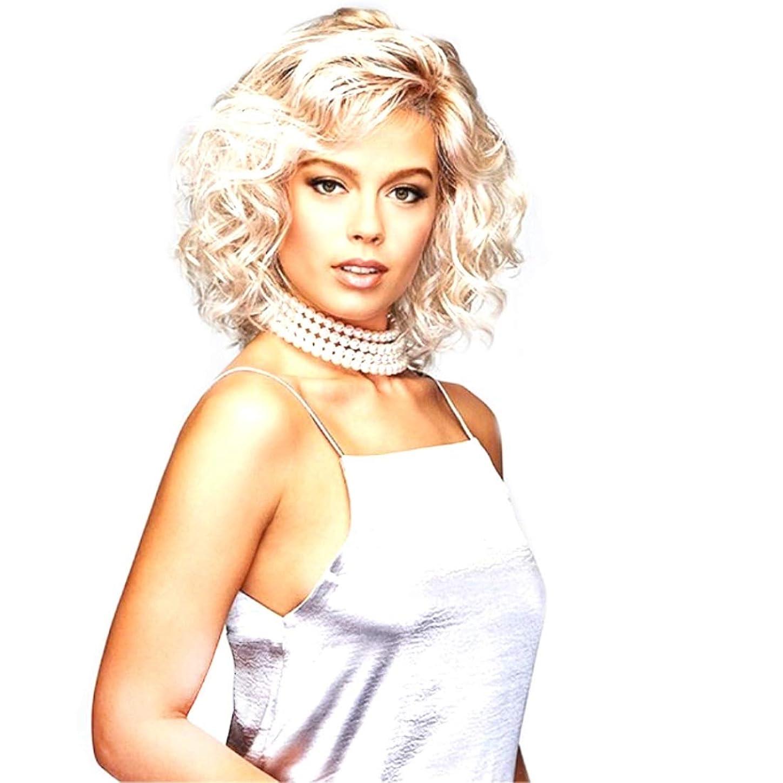 空白不機嫌そうなブランドSummerys 前髪と女性のための耐熱性合成かつらとショートカーリー合成かつら