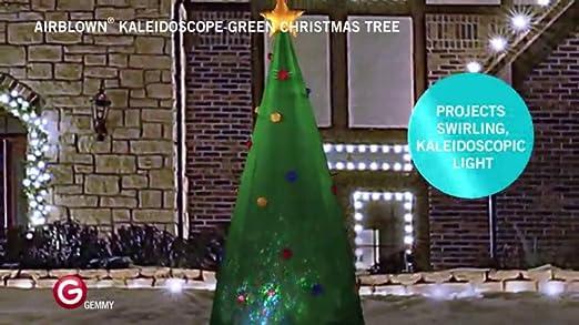 environ 2.13 m gonflable arbre de noël coincé Santa Pelouse Décoration Lumineuse Airblown Outdoor 7 ft