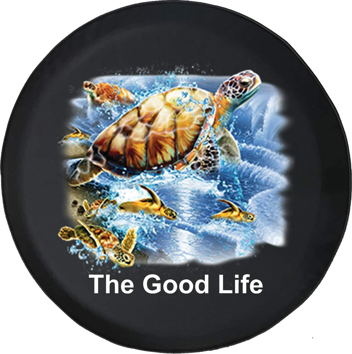 Caps Supply Tire Cover The Good Life Spasm Our shop most popular price with Sea Aquatic Turtles Se
