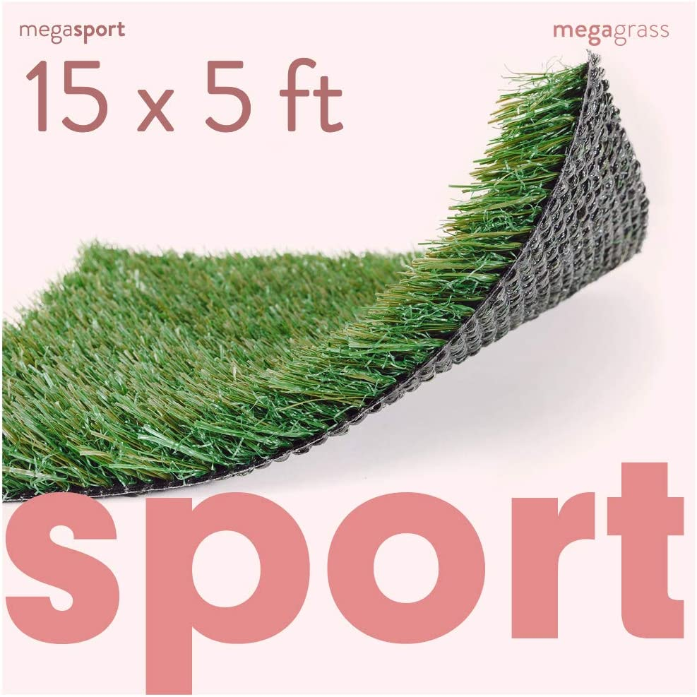 MEGAGRASS Louisville-Jefferson County Mall Houston Mall Premium Synthetic Turf for Sports Artificial - Deluxe