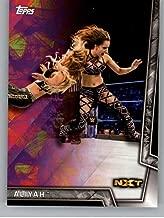 2018 Topps WWE Women's Division #32 Aliyah Wrestling Trading Card