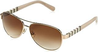 Kate Spade New York Women's Dalia Aviator Sunglasses, Gold & Brown Gradient, 58 mm