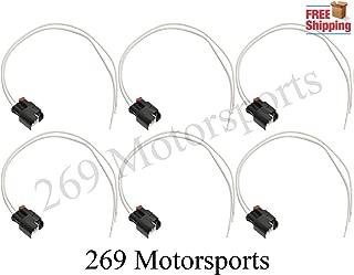 Fuel Injector Connector Wiring Harness Kit fits Wrangler JK TJ for Dodge/Jeep