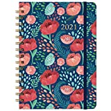 🌸 JANUARY 2021 - DECEMBER 2021 - Featuring 12 months of weekly and monthly pages and holidays marked. With weekly and monthly sections for easy academic planning and scheduling. A fresh floral cover against a pretty navy background for a better visua...