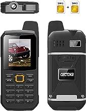 Cectdigi F8 Walkie Talkie Dual Sim Card Phone with Power Bank Charging Function,3000mAh Large Battery Capacity Rugged Phone (Black, 8G TF Card)