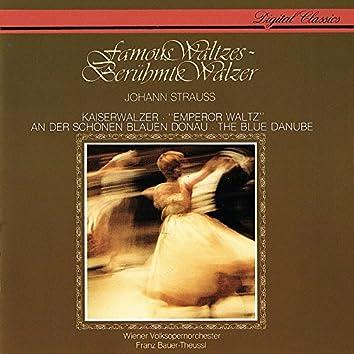 Strauss, Johann II: Famous Waltzes