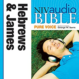 NIV Audio Bible, Pure Voice: Hebrews and James cover art