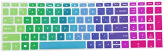 KESOTO Protetor de Teclado de Silicone Macio Ultrafino, Multicolor - arco Iris