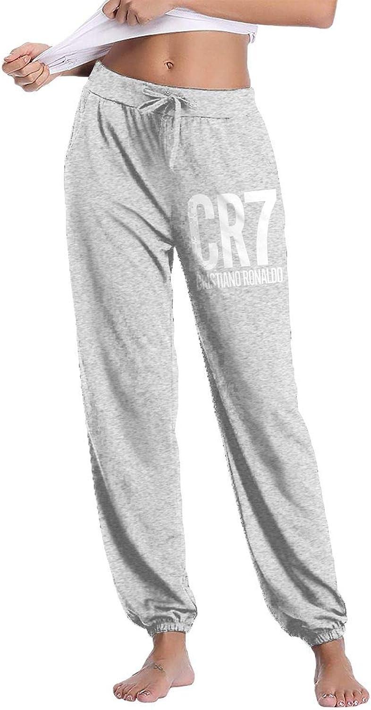 GavDon Women's CR7CristianoRonaldoLogo Casual Sweatpants Yoga Jogger Lounge Sweat Pants with Pockets
