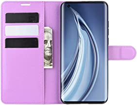 Wuzixi Case for Xiaomi Mi 9 Pro 5G. Anti-Scratch, Flip Case Side suction Kickstand Feature Card Slots Case, PU Leather Folio Cover for Xiaomi Mi 9 Pro 5G.Purple