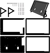 Longruner 5 inch Touch Screen Case Holder for Raspberry Pi 3 2 Model B and RPi 1 B+ A BB Black PC Various Systems LSC5A-1